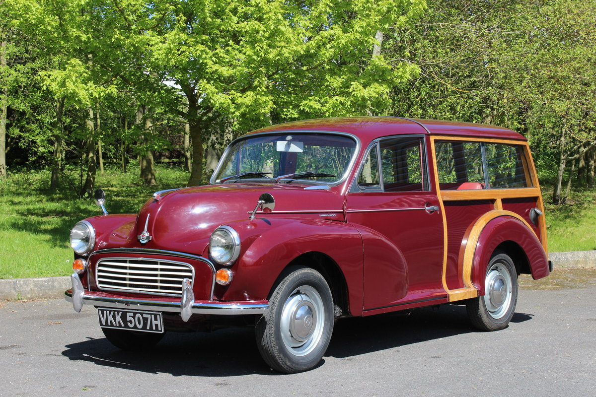 1970 MORRIS 1000 TRAVELLER - 'SOLD@ MORE REQUIRED SOLD (picture 1 of 6)