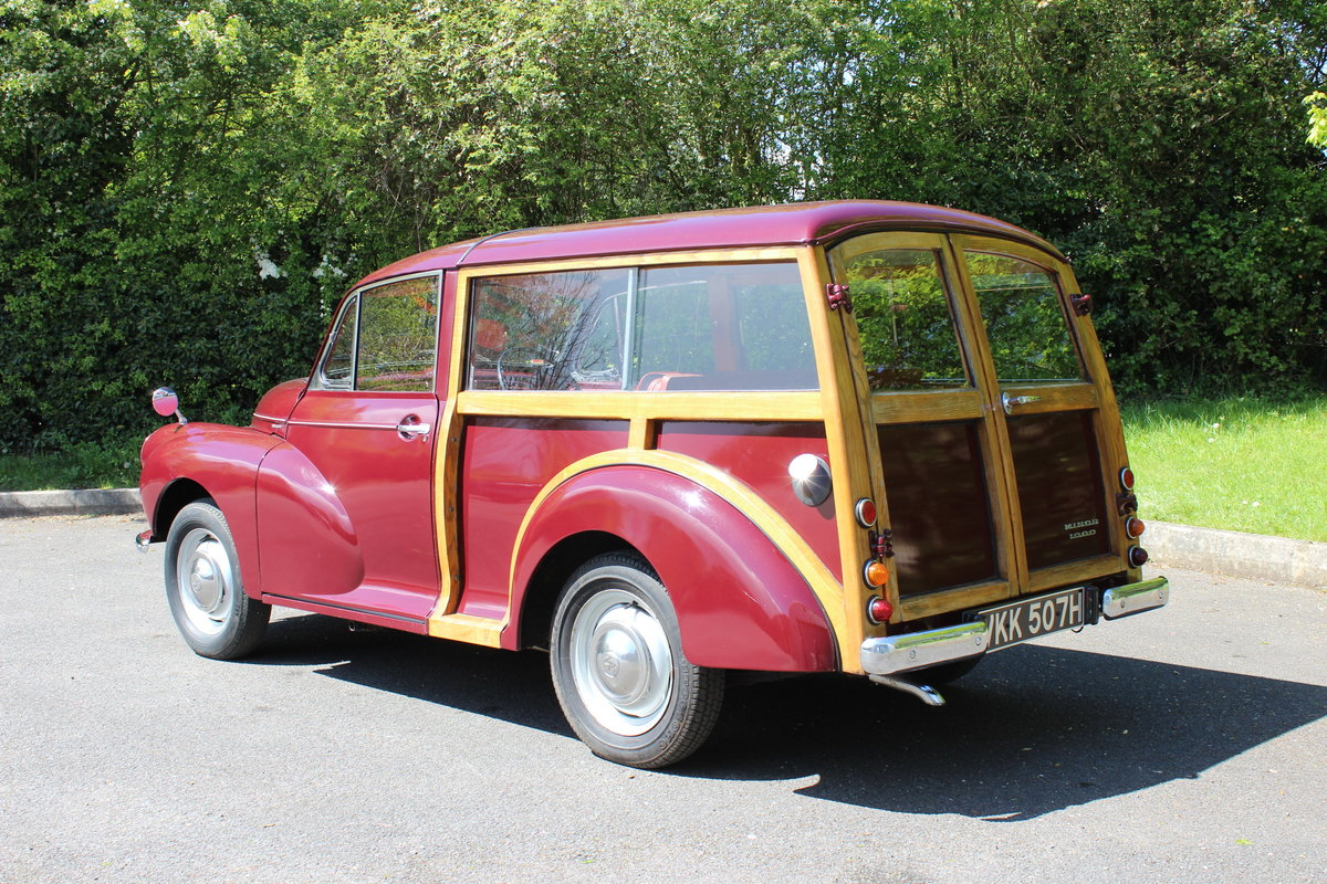 1970 MORRIS 1000 TRAVELLER - 'SOLD@ MORE REQUIRED SOLD (picture 2 of 6)