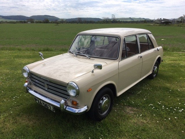 1970 Morris 1300 Saloon at Morris Leslie Auction 25th May SOLD by Auction (picture 1 of 6)