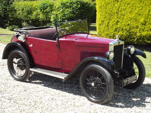 1931 Morris Minor Two Seater SOLD