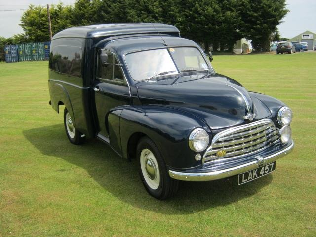 1955 MORRIS OXFORD MO VAN For Sale (picture 2 of 6)
