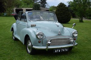 1963 MORRIS MINOR FACTORY CONVERTIBLE - LOVELY EXAMPLE! For Sale
