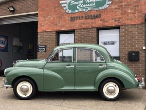 Picture of 1964 Morris Minor saloon, 64000 miles matching numbers  SOLD