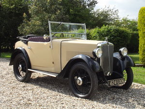 1934 Morris Minor Two Seater For Sale