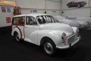 1970 Morris Minor Traveller, in beautiful restored condition SOLD