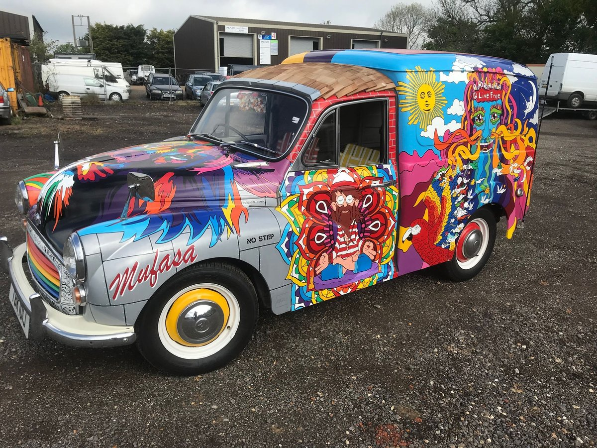 """1971 ONE OF A KIND EVENTS AND FESTIVAL VAN ...""""SERGEANT PEPPER""""  For Hire (picture 1 of 6)"""