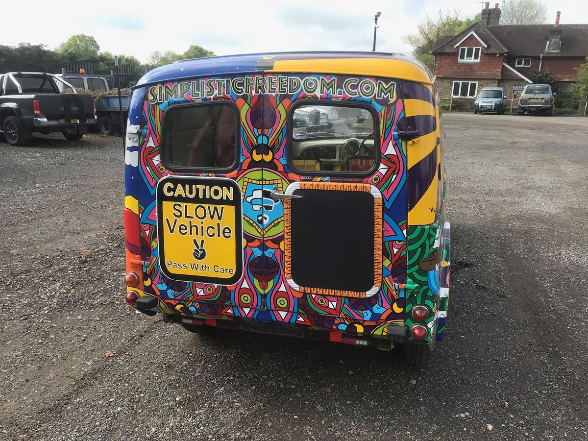 """1971 ONE OF A KIND EVENTS AND FESTIVAL VAN ...""""SERGEANT PEPPER""""  For Hire (picture 4 of 6)"""
