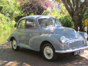 1959 Morris Minor 2 Door Saloon. Unrestored with 12 months M For Sale
