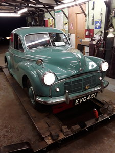 1951 morris minor, 4 door, short  bonnet. Rare! For Sale