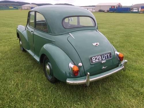 1955 Morris Minor Splitscreen at Morris Leslie Auction 25th May SOLD by Auction (picture 2 of 6)