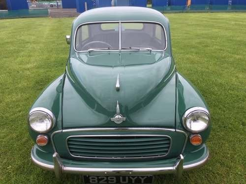1955 Morris Minor Splitscreen at Morris Leslie Auction 25th May SOLD by Auction (picture 3 of 6)