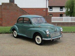 1967 Morris Minor 1000 at ACA 15th June  For Sale