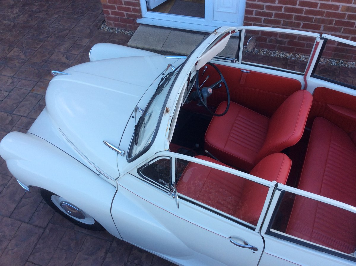 1966 Morris Minor Convertible for sale For Sale (picture 3 of 6)