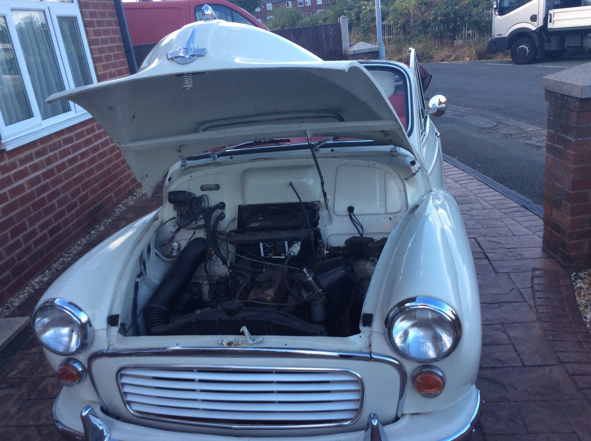 1966 Morris Minor Convertible for sale For Sale (picture 5 of 6)