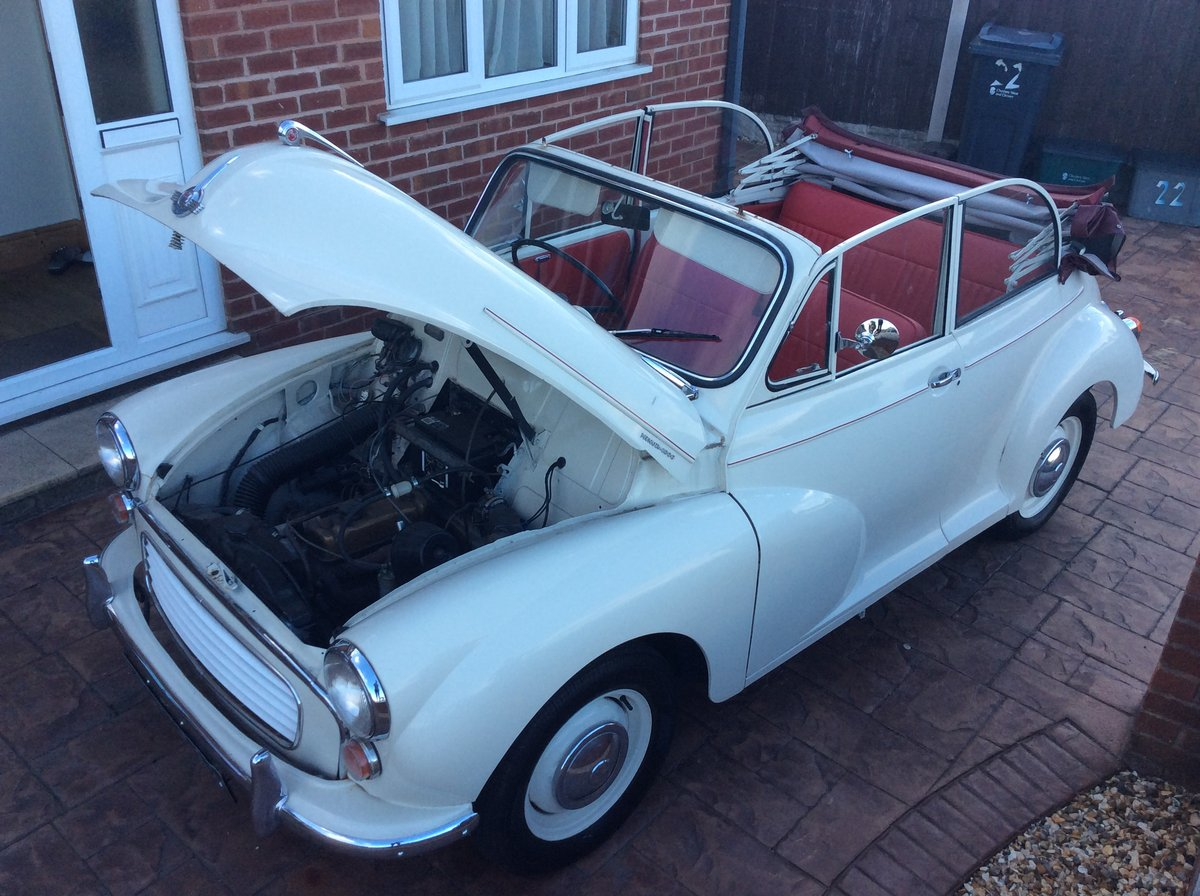 1966 Morris Minor Convertible for sale For Sale (picture 6 of 6)
