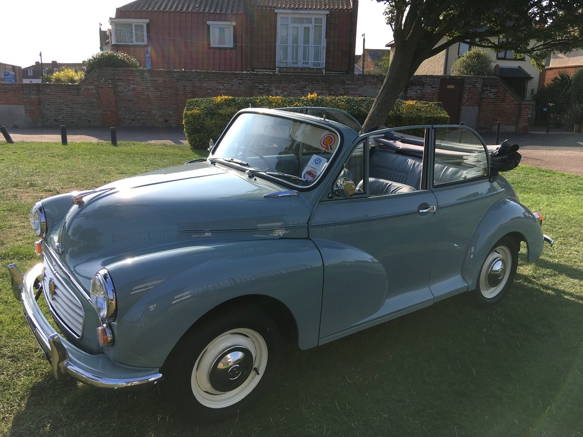 1966 Morris Minor Convertible SOLD (picture 4 of 6)