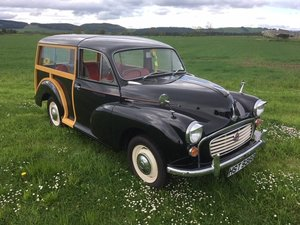 1968 Morris Minor at Morris Leslie Auction 25th May SOLD by Auction