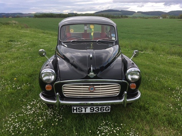 1968 Morris Minor at Morris Leslie Auction 25th May SOLD by Auction (picture 2 of 6)