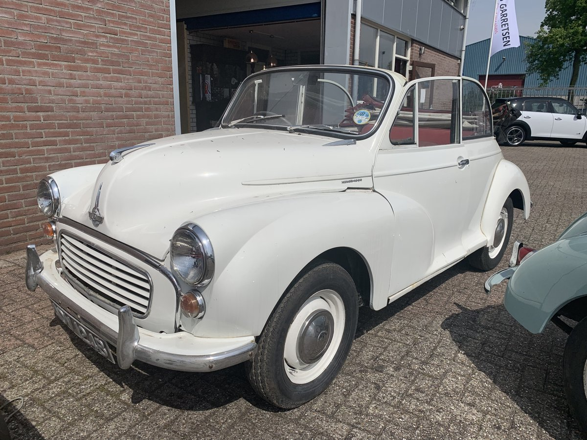 1960 Morris Minor Tourer Convertible For Sale (picture 1 of 6)