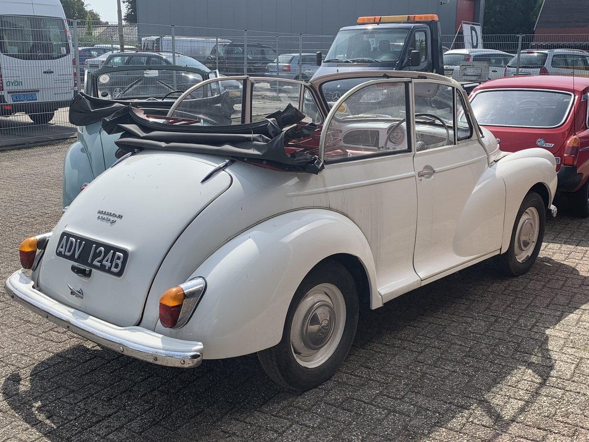 1960 Morris Minor Tourer Convertible For Sale (picture 4 of 6)