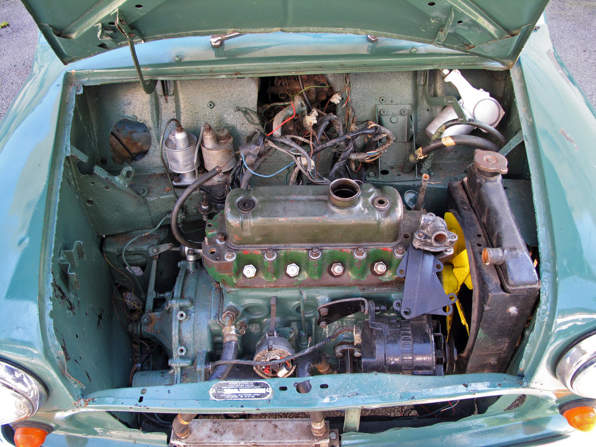 1968 RHD Morris Cooper 1000 Mk2 For Sale (picture 4 of 6)