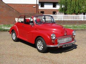 1964 Morris Minor Convertible at ACA 15th June  For Sale