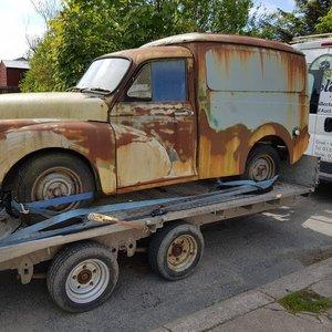 1970 Rare Austin Morris Minor 100 Van For Sale