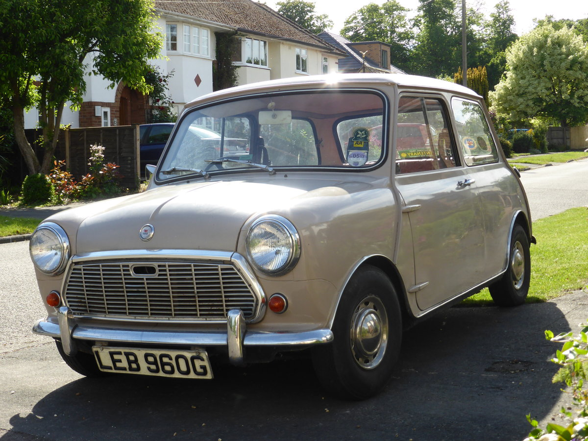 1969 Original Morris Mini 850 SOLD (picture 1 of 6)