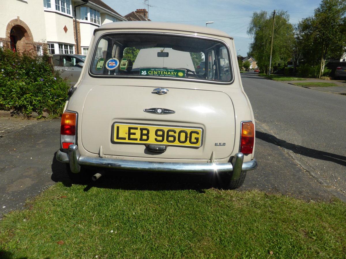 1969 Original Morris Mini 850 For Sale (picture 6 of 6)