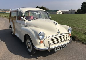1967 Morris Minor Traveller, Totally Renovated SOLD