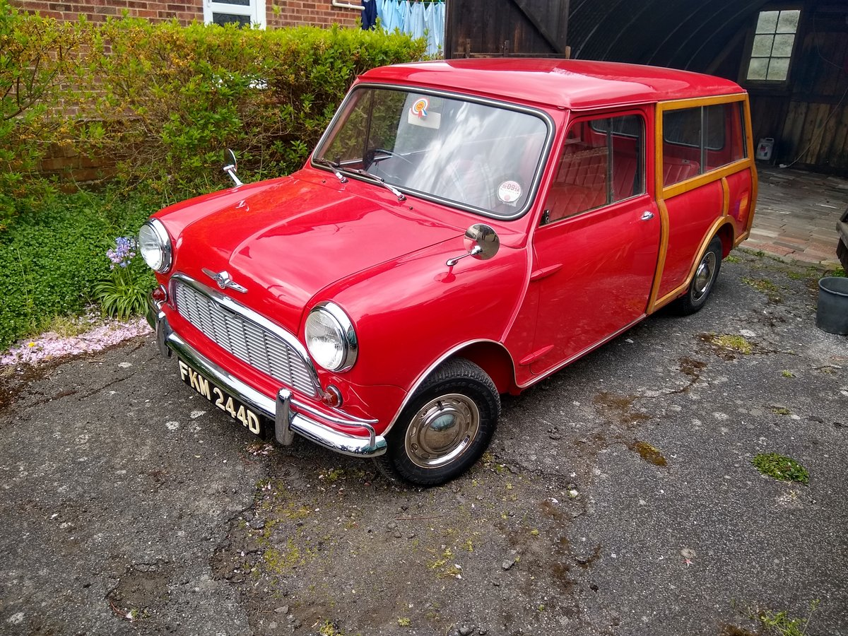 1966 Morris Mini Traveller Auction Friday 12/7 midday For Sale by Auction (picture 1 of 6)