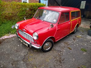 1966 Morris Mini Traveller Auction Friday 12/7 midday SOLD by Auction
