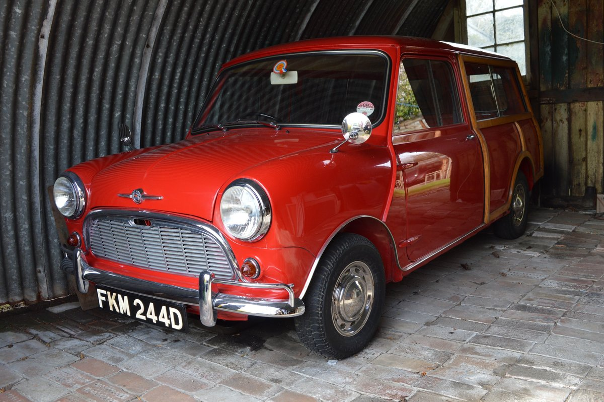 1966 Morris Mini Traveller Auction Friday 12/7 midday For Sale by Auction (picture 2 of 6)
