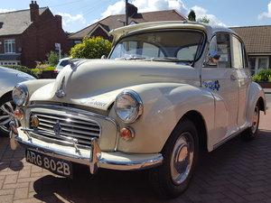 Morris Minor 1964 1000 4 Door White Fully Restored For Sale