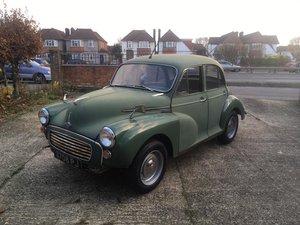 Morris Minor 1000 1963 4dr Saloon  For Sale
