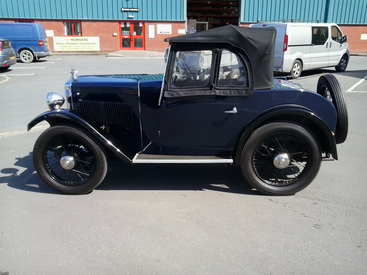 1932 Morris Minor 2 Seater Tourer For Sale (picture 1 of 6)