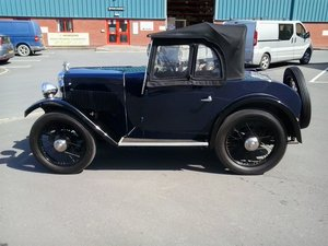 1932 Morris Minor 2 Seater Tourer For Sale