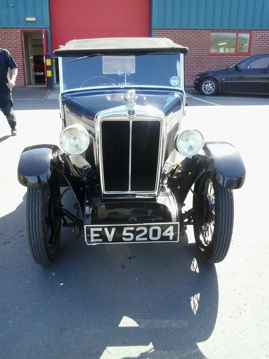 1932 Morris Minor 2 Seater Tourer For Sale (picture 2 of 6)