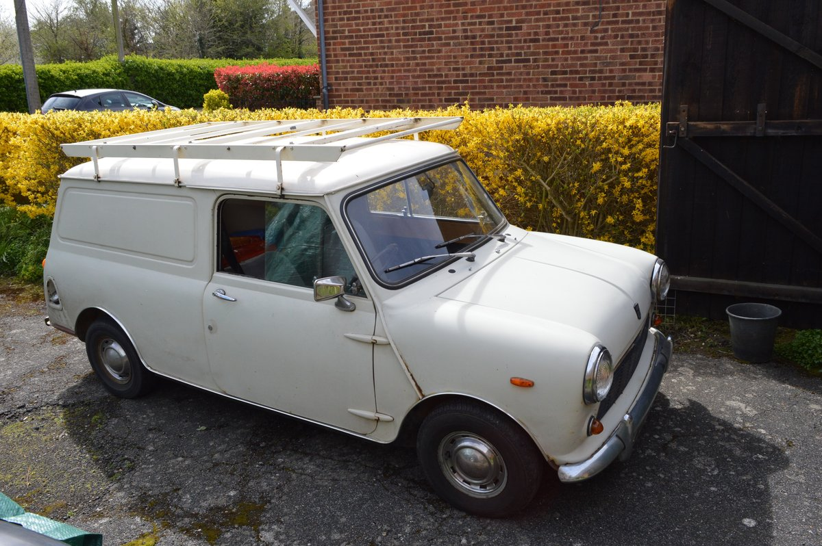 1974 Mini 1000 van for sale by Auction Friday 12th July SOLD by Auction (picture 1 of 6)