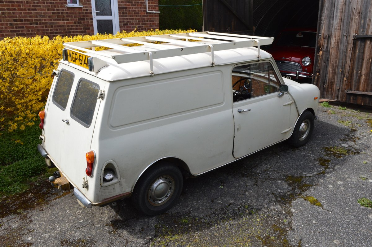 1974 Mini 1000 van for sale by Auction Friday 12th July SOLD by Auction (picture 2 of 6)
