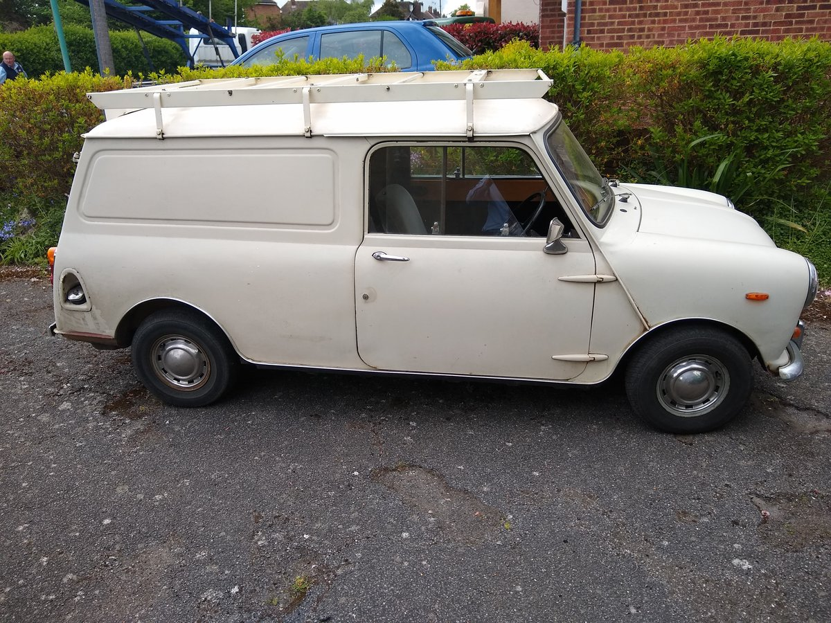 1974 Mini 1000 van for sale by Auction Friday 12th July SOLD by Auction (picture 4 of 6)