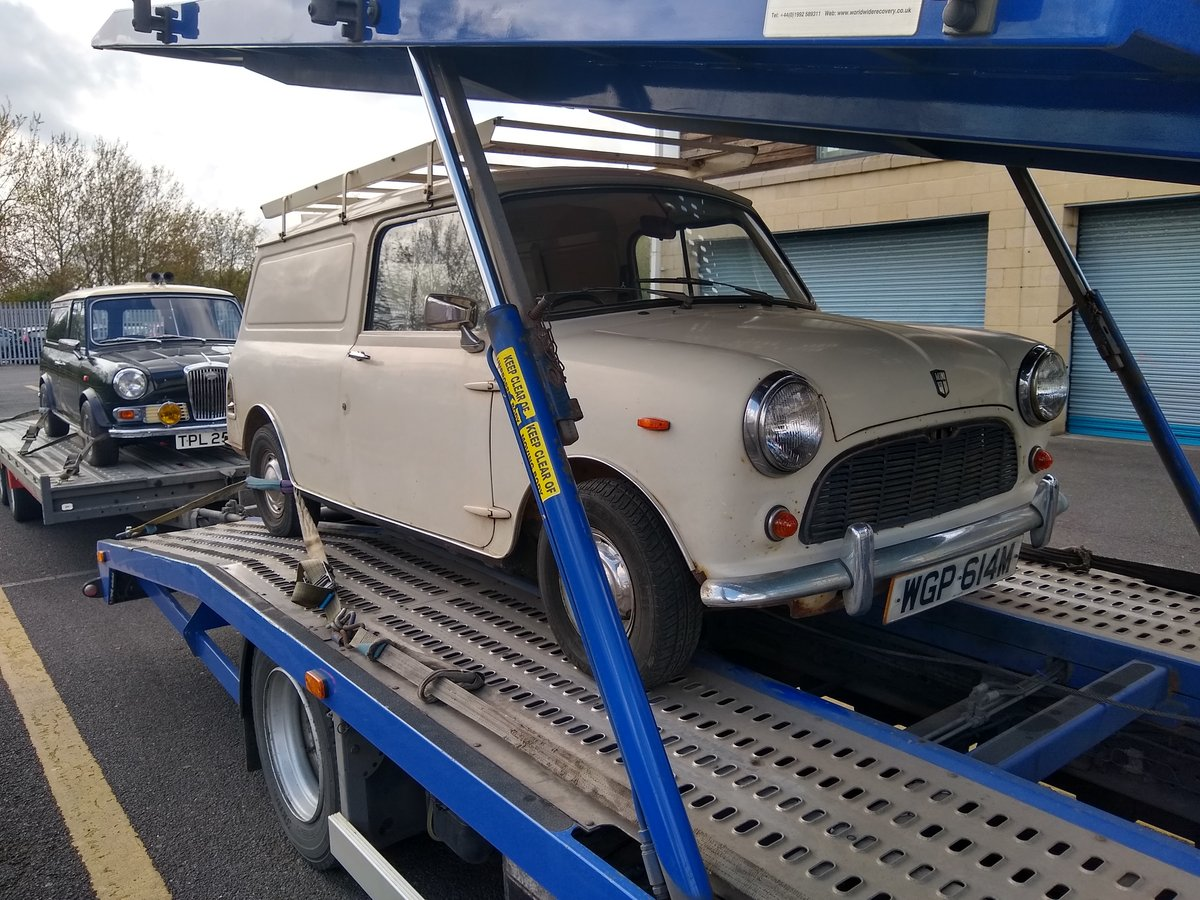 1974 Mini 1000 van for sale by Auction Friday 12th July SOLD by Auction (picture 5 of 6)