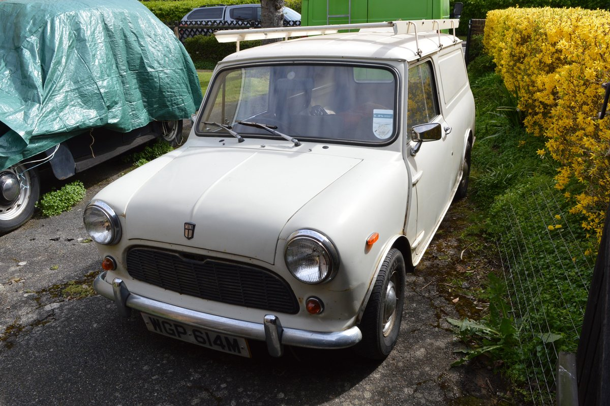 1974 Mini 1000 van for sale by Auction Friday 12th July SOLD by Auction (picture 6 of 6)