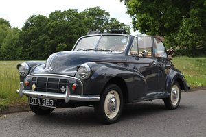 Morris Minor Convertible 1952 - To be auctioned 26-07-19 For Sale by Auction