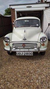 1968 Morris Minor 1000 2 Door Saloon