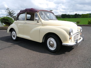 1962 Morris Minor Convertible For Sale