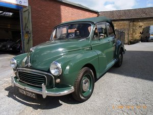 1968 Morris Minor Convertible (1275cc) For Sale