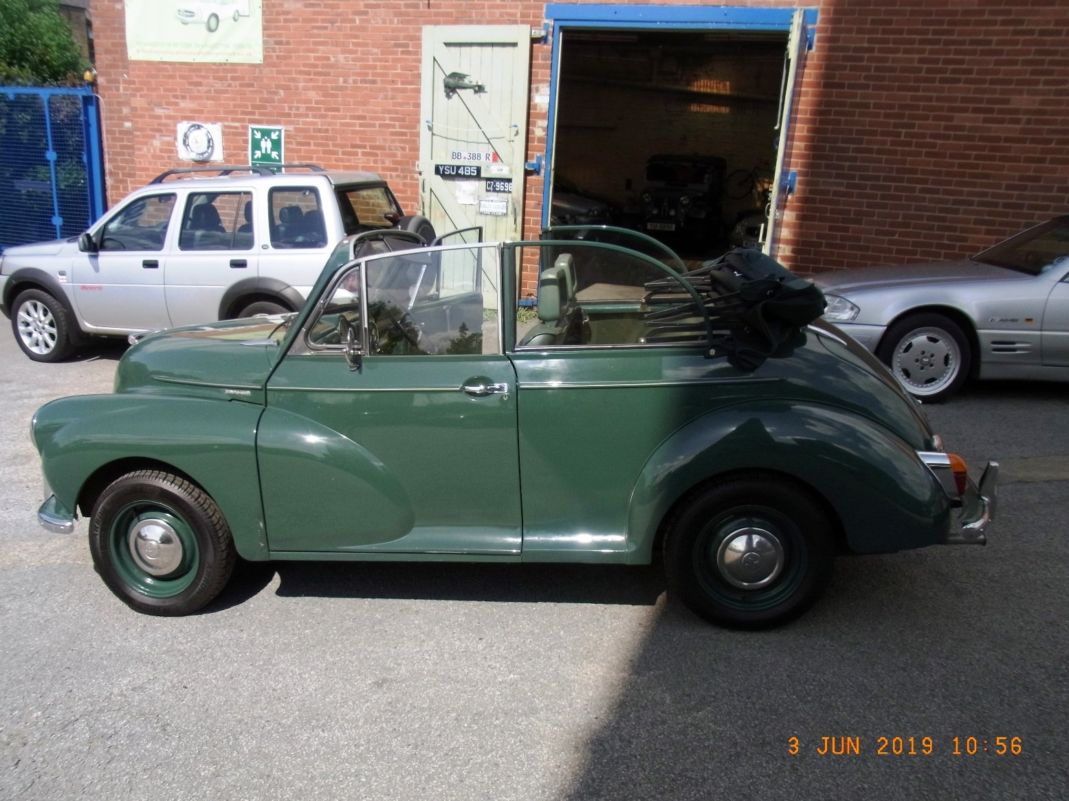 1968 Morris Minor Convertible (1275cc) For Sale (picture 2 of 6)