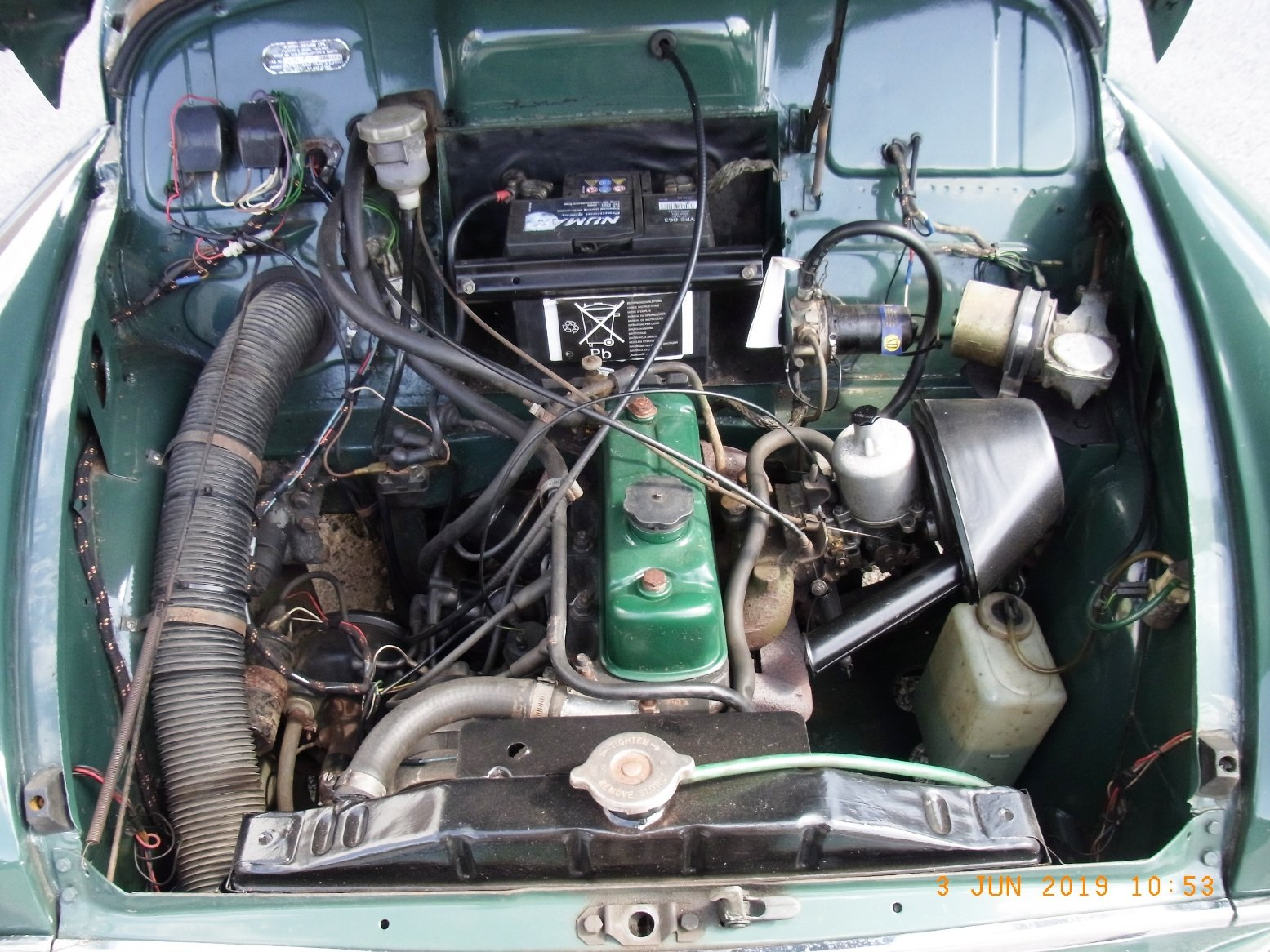 1968 Morris Minor Convertible (1275cc) For Sale (picture 3 of 6)
