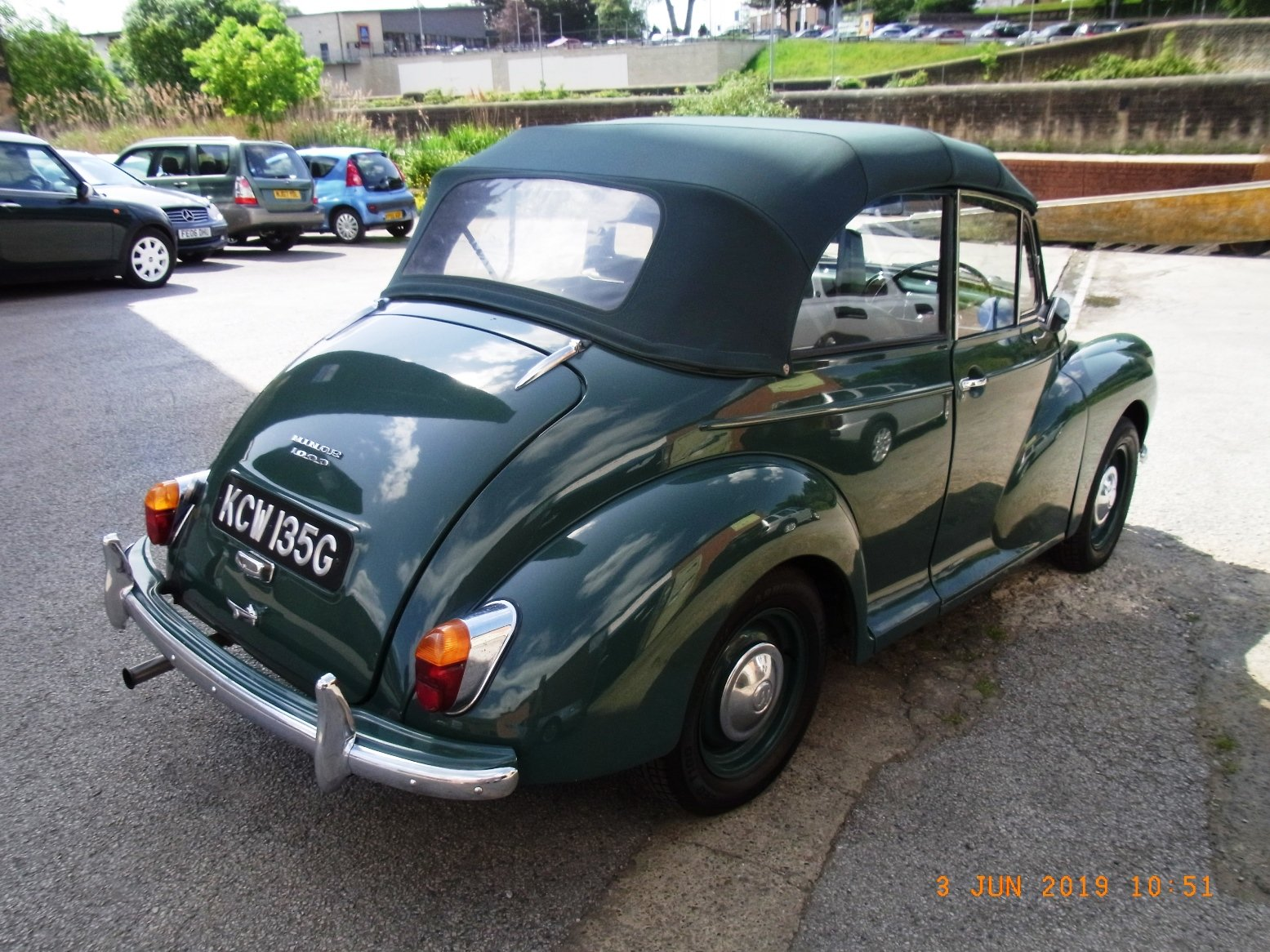 1968 Morris Minor Convertible (1275cc) For Sale (picture 5 of 6)